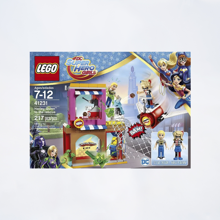 The Lego Rescue41231 Super Girls Quinn Hero Harley To Dc OXnwk8P0