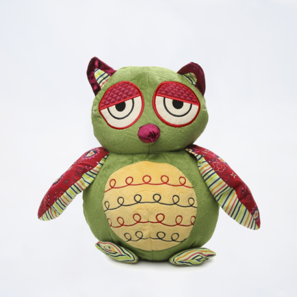 Patchwork Owl Plush